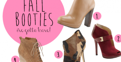 fall booties i've got to have
