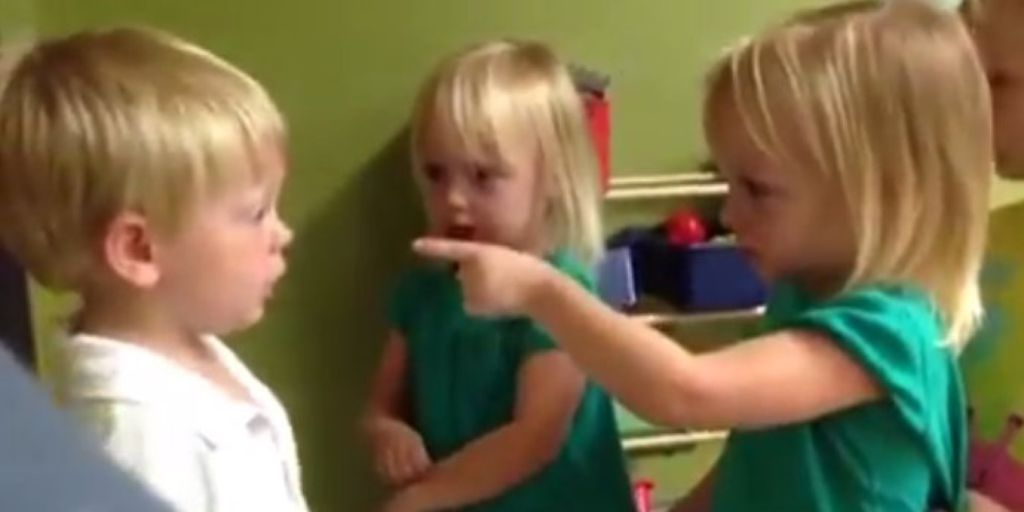 kids arguing about rain