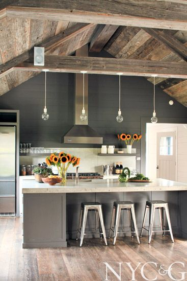 modern farmhouse kitche 2