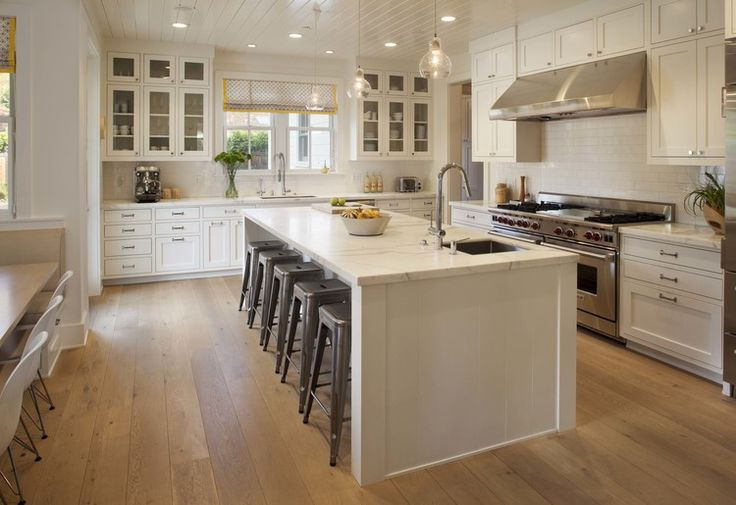 My dream house a modern farmhouse happy girls are the - Farmhouse style kitchen cabinets ...
