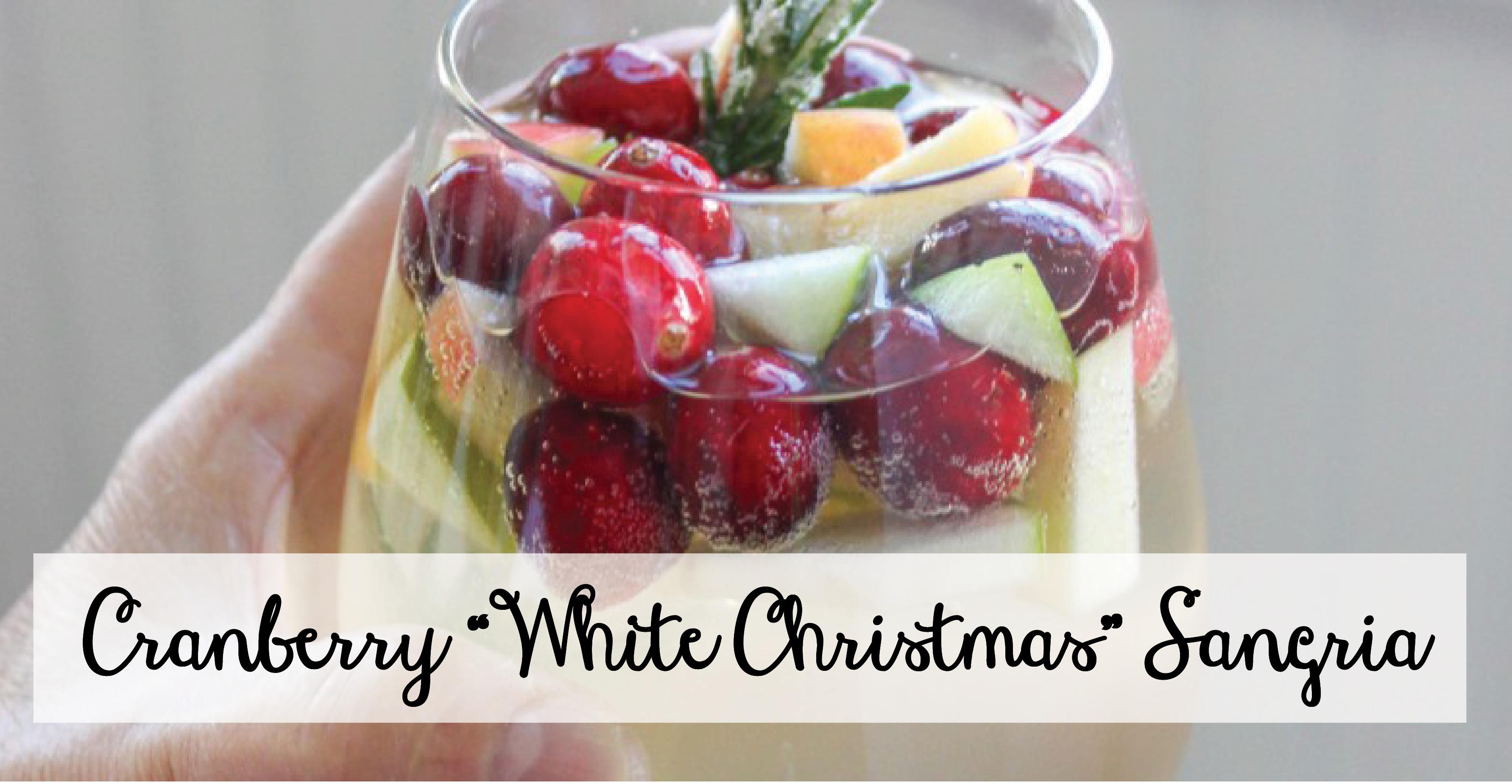 cranberry white christmas sangria 2