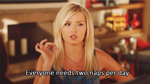 two naps per day