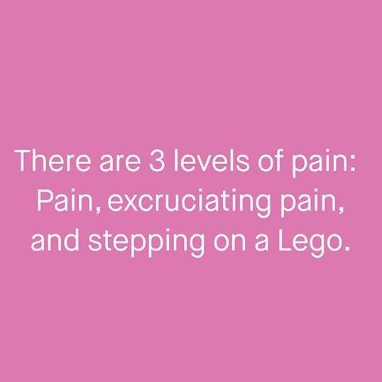 lego pain