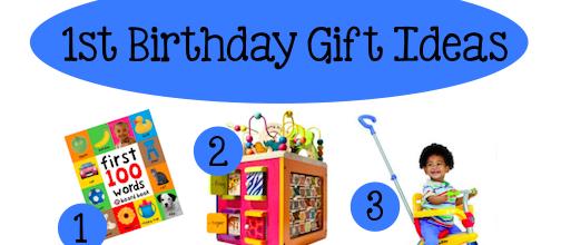 1st birthay gift ideas 2