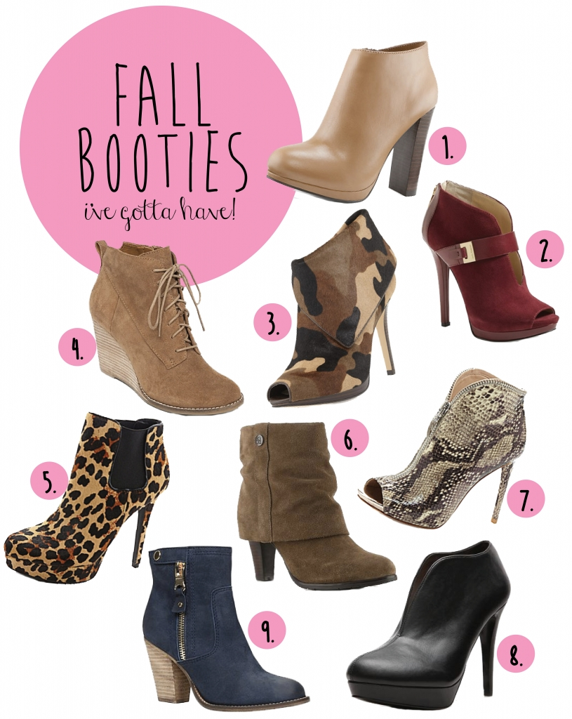 fall booties ive got to have
