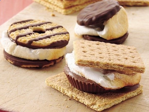different s'mores