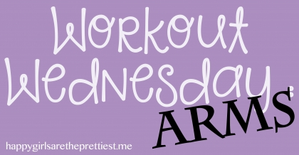 workout wednesday arms