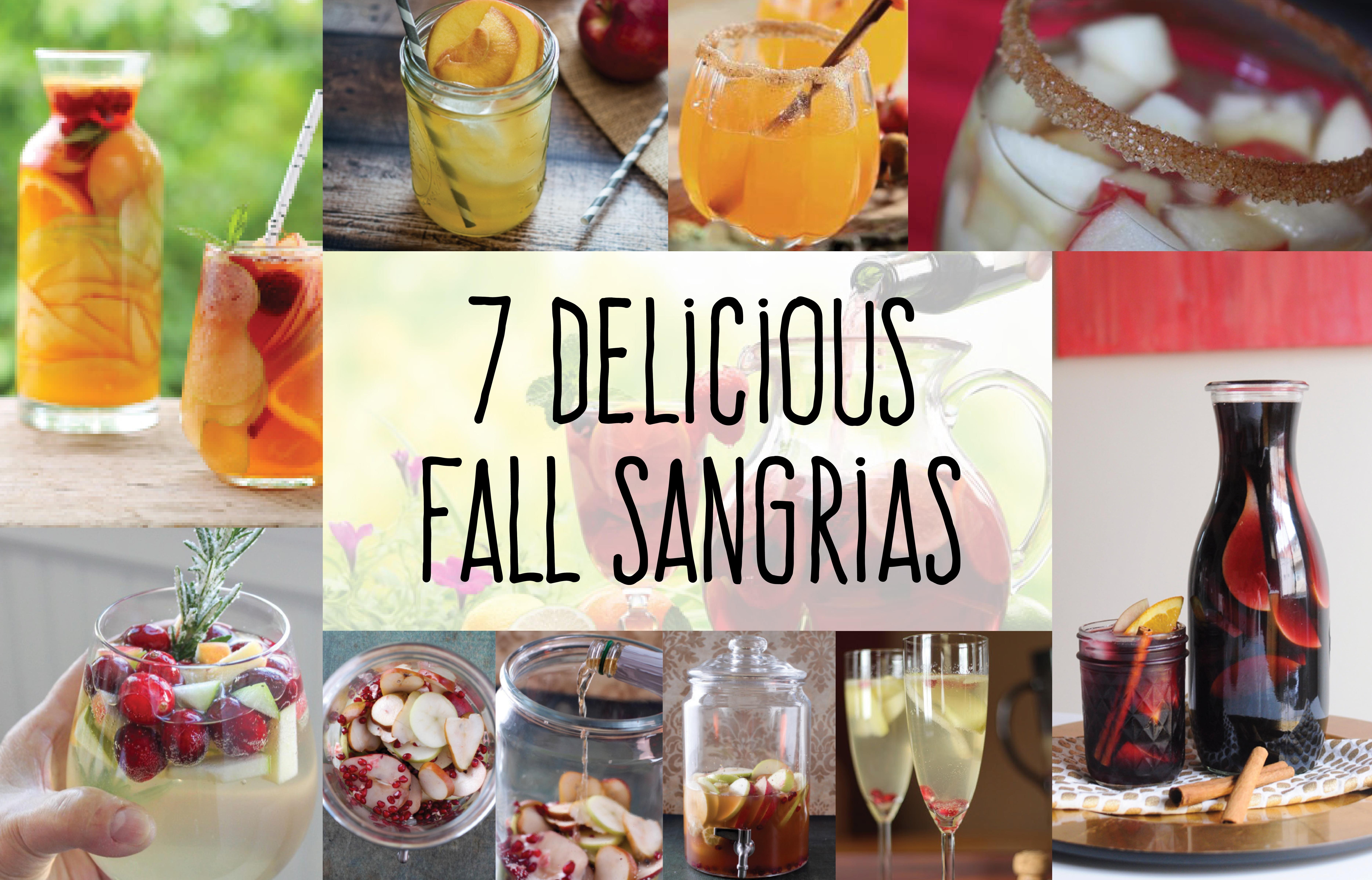 7 delicious fall sangrias