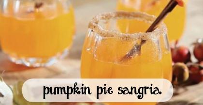 pumpkin pie sangria