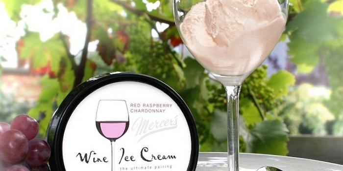 wine icecream