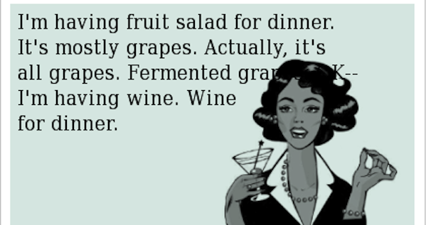 wine is fruit