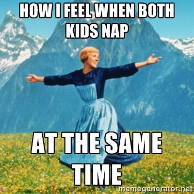 when kids nap at same time